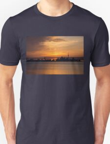 First Sun Rays - Toronto Skyline at Sunrise Unisex T-Shirt