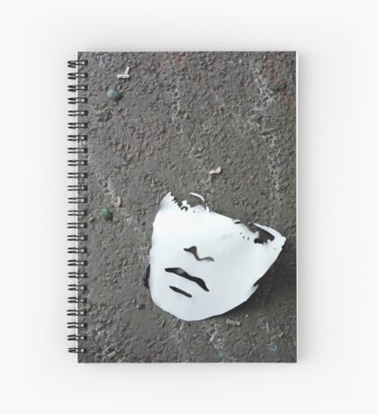 Face off Spiral Notebook