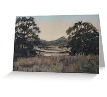 Dusk, Coonabarabran Greeting Card