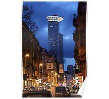 Downtown Frankfurt / Main Poster