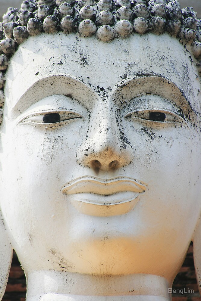 Buddha face by BengLim