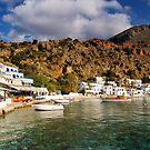 Loutró Harbour, Crete by Simon Bowen