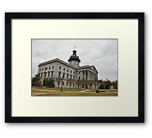 Columbia SC State House Framed Print