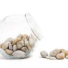 Pebbles and Jar by Natalie Kinnear