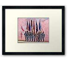 Military Branches Framed Print