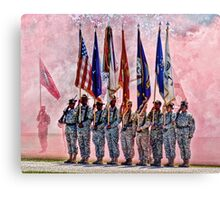 Military Branches Canvas Print