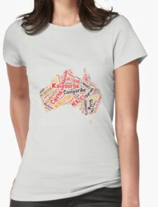 My Country - Tshirt Womens Fitted T-Shirt