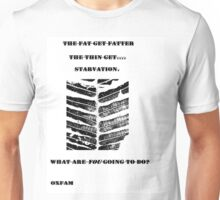 My oxfam comp entry Unisex T-Shirt