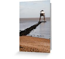 Dovercourt Lighthouse Greeting Card