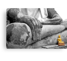 """Earth Witness"" Buddha Canvas Print"