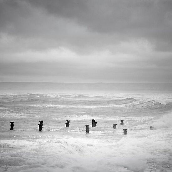 The Pier, Westward Ho! by John Burtoft