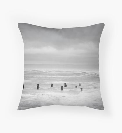 The Pier, Westward Ho! Throw Pillow
