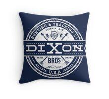 Dixon Bros. - White Version Throw Pillow