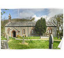 The Parish Church Of St Mary, Whicham Poster