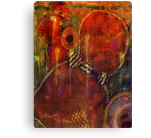 Tribal Dancers Canvas Print