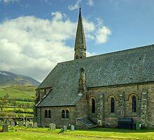 The Church At Bassenthwaite by Jamie  Green