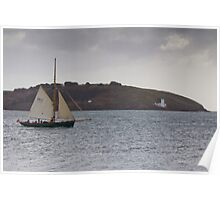 Underway and Reefed In Poster