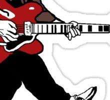 Marty Mcfly Johnny B Goode Sticker