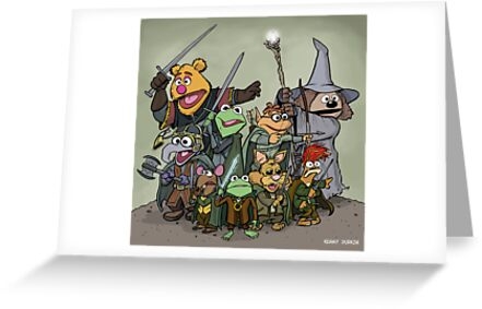 Fellowship of the Muppets by Kenny Durkin