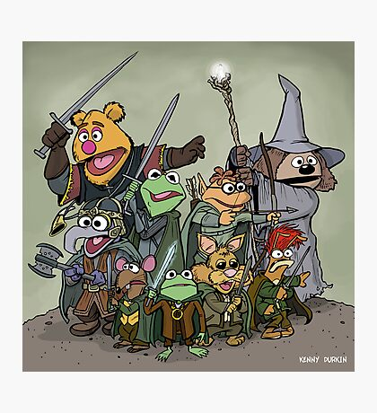 Fellowship of the Muppets Photographic Print