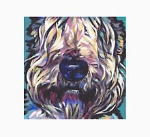 Wheaten Terrier Bright colorful pop dog art Unisex T-Shirt