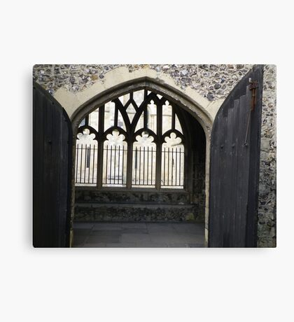 The old abbey Canvas Print
