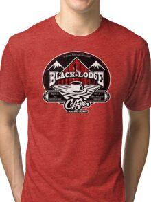 Black Lodge Coffee Company (clean) Tri-blend T-Shirt
