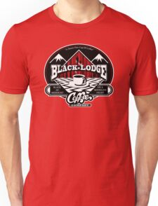 Black Lodge Coffee Company (clean) Unisex T-Shirt