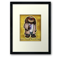 The Big Bowwowski Framed Print