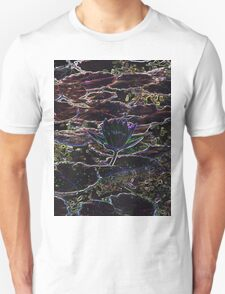 Neon Water Lily Unisex T-Shirt