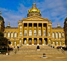 The Iowa State Capitol by Bryan D. Spellman