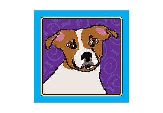 Jack Russell Cartoon by Maria Bell