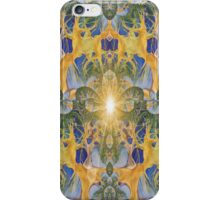 Under the forest...looking up i phone 4 iPhone Case/Skin