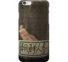 Autumn in Japan:  Ancient Remedies iPhone Case/Skin