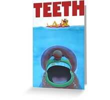 TEETH Greeting Card