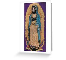 Our Lady of Guadalupe and Cats Greeting Card