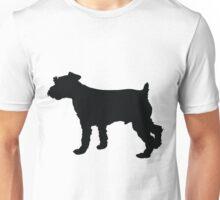 Schnauzer Silhouette Unisex T-Shirt