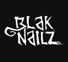 Blak Nailz Logo Tee by Jeremy Treece