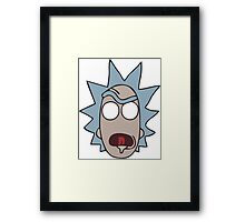face rick Framed Print
