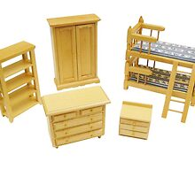 Bedroom Pine Furniture Set  by gshishkov