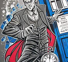 "The Twelfth Doctor (""All Thirteen!"") by Raine  Szramski"