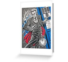 "The Twelfth Doctor (""All Thirteen!"") Greeting Card"
