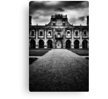 Kirby Hall Canvas Print