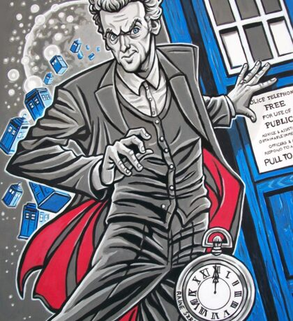 "The Twelfth Doctor (""All Thirteen!"") Sticker"