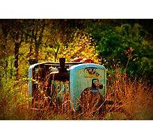 Lost in time Photographic Print