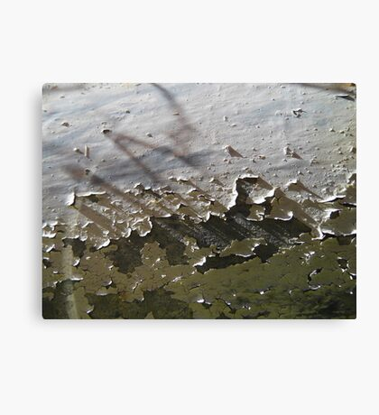 Chipped Paint Canvas Print