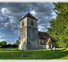 Evensong,The Church Of St Mary The Virgin, Winchfield by Cliff Samuel-Camps