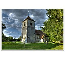 Evensong,The Church Of St Mary The Virgin, Winchfield Photographic Print