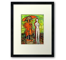 WE Can ENDURE All Kinds of Weather Framed Print
