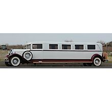 Old Limo Photographic Print